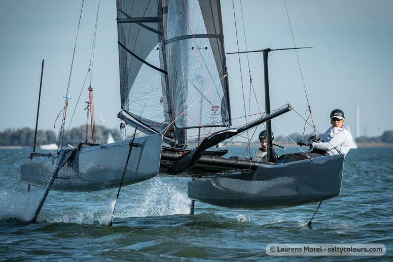 Upwind on the vampire at Hellecat